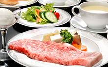 【宮城の極上和牛を食す】安心・安全・定評のある味と品質!【夕朝食2食付・登米産牛ステーキプラン】