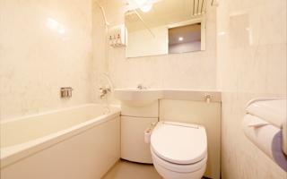 全室バス・トイレを完備